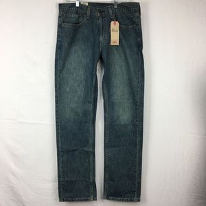 NWT Levi's 559 Relaxed Straight Jeans 34 X 34